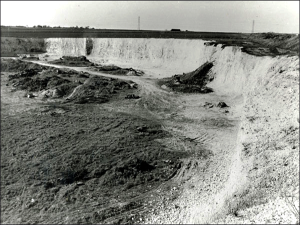 Quarrying ceased in 1957