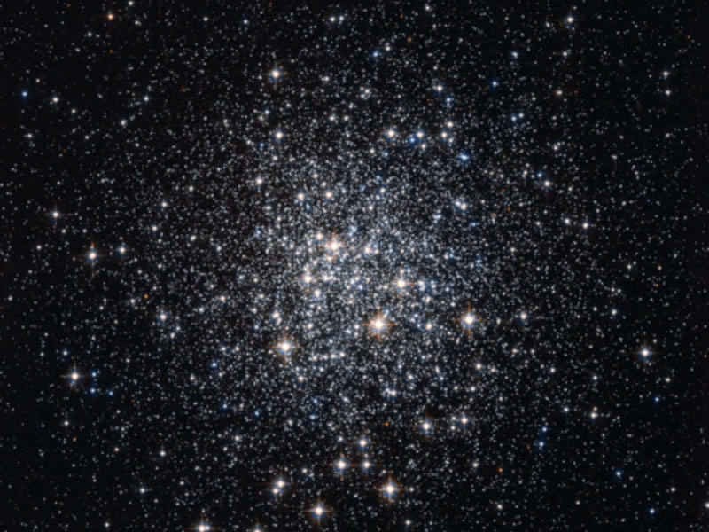 M72: A Globular Cluster of Stars. Image credit: NASA, ESA, Hubble, HPOW