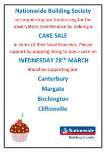 Poster for Nationwide cake sale